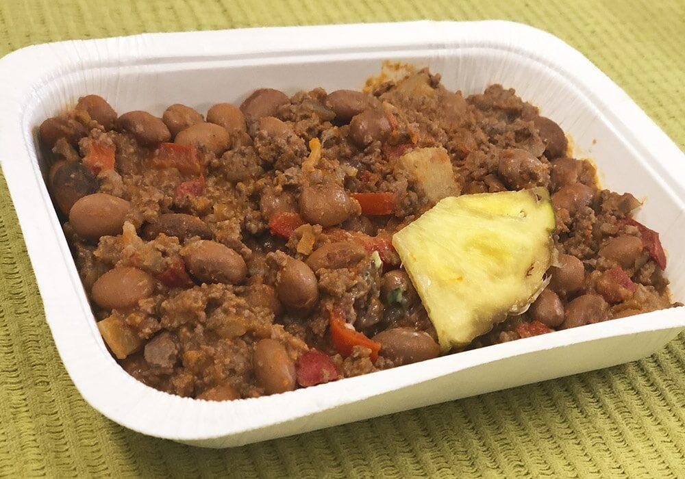Chili con carne med nötkött
